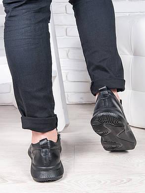 Мужские кожаные кроссовки 6888-28, фото 2
