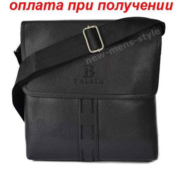Мужская кожаная фирменная сумка барсетка BALIYA Polo классика купить