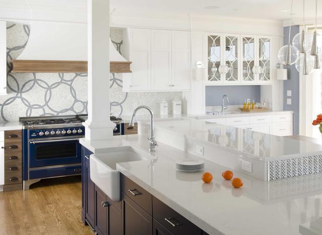 Кухонная Cтолешница искусственный камень Silestone Lyra - Photo