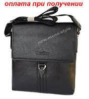 Чоловіча шкіряна фірмова сумка барсетка Cantlor класика планшетка, фото 1