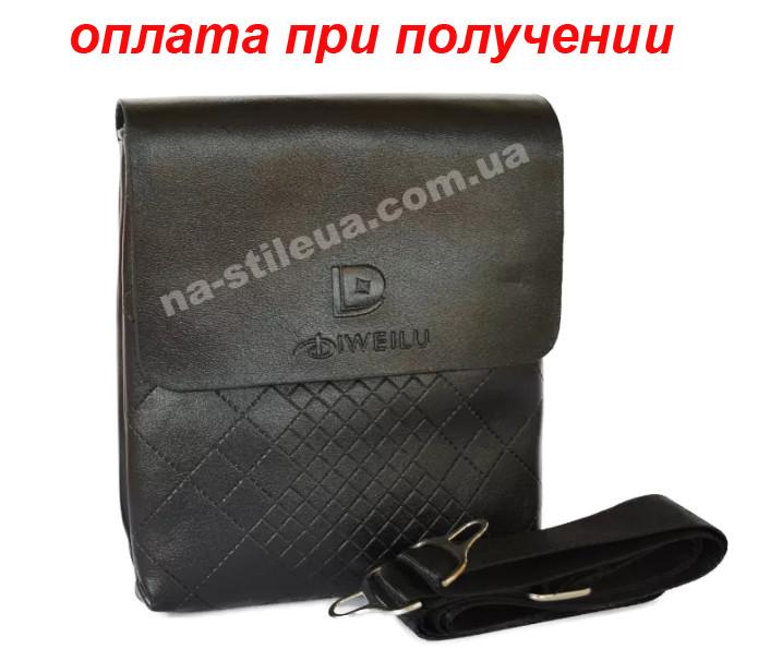 Чоловіча чоловіча шкіряна сумка барсетка через плече Diweilu (Polo) NEW