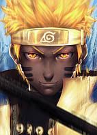Картина GeekLand Naruto Наруто главный герой 40x60 NU 09.001