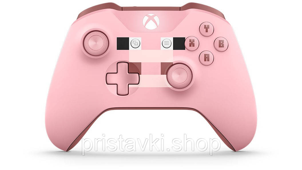 Джойстик XBOX ONE Minecraft Pig \ PC Bluetooth