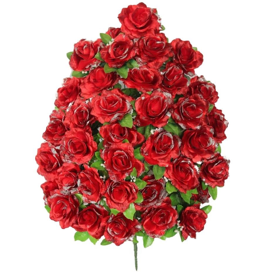 Букет искусственная роза, 47см от 1 шт