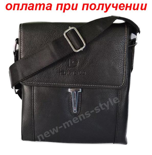 Мужская кожаная фирменная сумка барсетка DIWEILU Polo классика купить