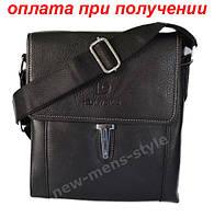 Мужская кожаная фирменная сумка барсетка DIWEILU Polo классика купить, фото 1