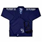 Кимоно для Бразильского Джиу-Джитсу Boa Treinado Темно-синее, фото 6