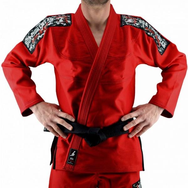 Кимоно для Бразильского Джиу-Джитсу Boa Treinado Красное