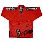 Кимоно для Бразильского Джиу-Джитсу Boa Treinado Красное, фото 6