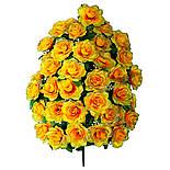 Букет искусственная роза, 47см от 1 шт, фото 4