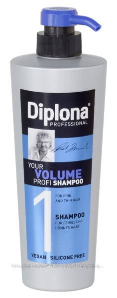 DIPLONA PROFESSIONAL Шампунь для тонкого та ослабленого волосся, 600мл, шт