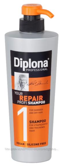 DIPLONA PROFESSIONAL Шампунь для сухого та пошкодженого волосся, 600мл, шт