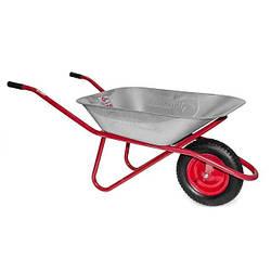 Тачка садово-строительная Intertool 65 л x 150 кг x (3.5-8.0) 1 колесо (WB-0615)