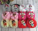 Резинки для волос фатиновые шарики с куклами LOL 12 шт/уп., фото 4