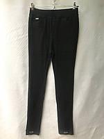 Джеггинсы женские норма, однотонные, размеры 25-30, черные, фото 1