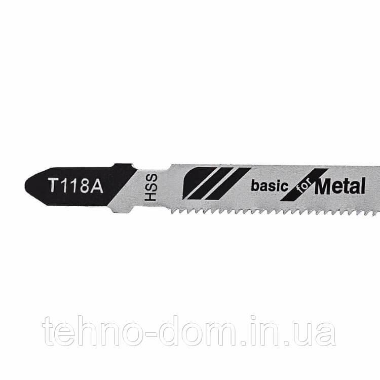 Пильное полотно для лобзика Dnipro-M Т118 A