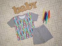 Летний костюм для мальчика Размер 26(52) Літній костюм для хлопчика Розмір  26 ( 8ad94330579be