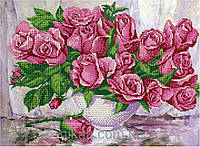 """Схема для частичной вышивки бисером """" Любимые цветы """""""