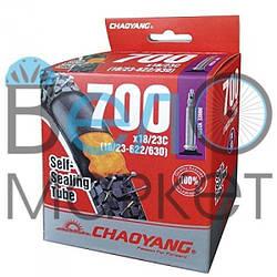 "Камера CHAO YANG антипрокольная 28"" 700с*18/23с (18/23-622/630) FV 48 мм"