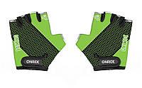 Перчатки детские Onride Gem зеленый / черный возраст 3-4 лет