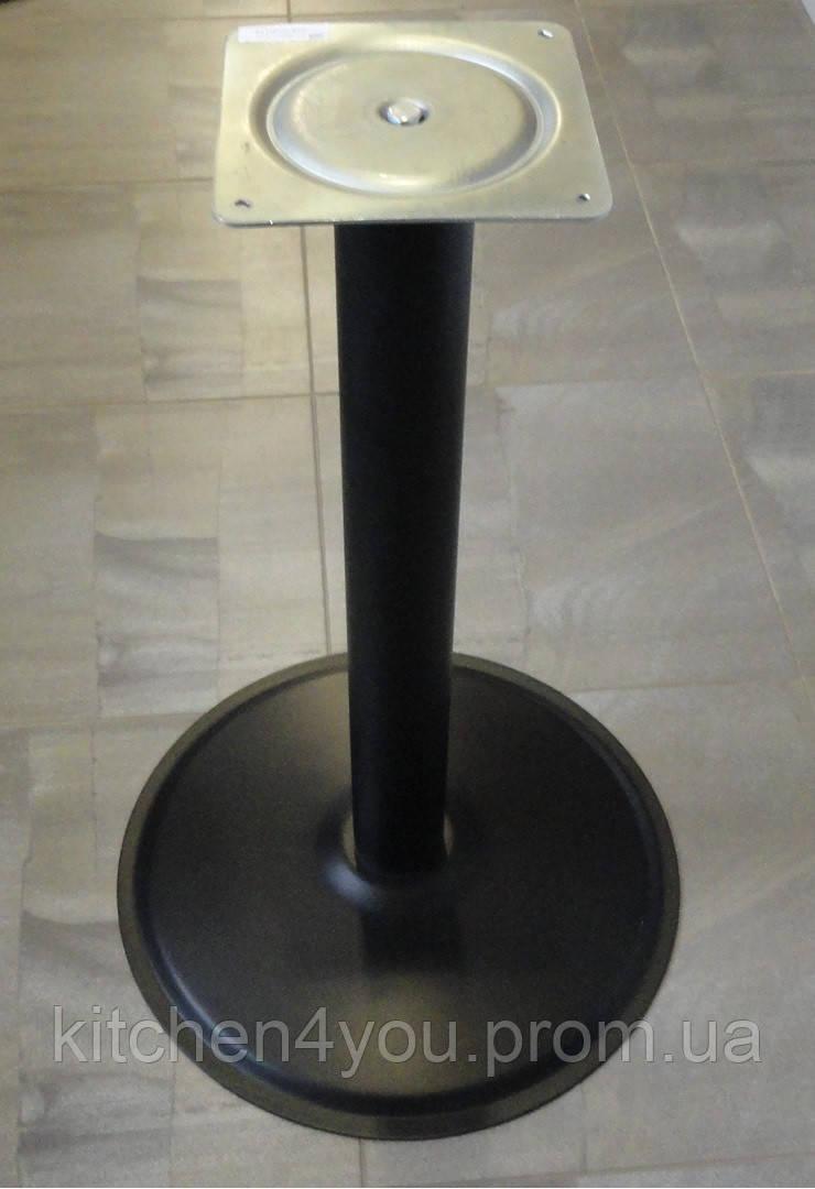 Опора для стола с круглым основанием Tempo 11.193.02.02 черное основание и опора
