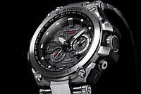 Мужские наручные часы Casio G-Shock металлический корпус (черный. серый, золотой, серебристый) в стиле
