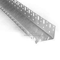 Профиль цокольный алюминевый 53 мм, 2,5 м