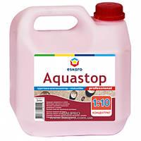 Грунт-концентрат ESKARO Aquastop Professional модификатор строительных растворов (1:10), 10 л