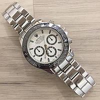Часы наручные мужские Rolex Daytona Quartz Date 411 S (Ролекс Дайтона Дэйт 411 С)