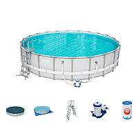 Каркасный бассейн Bestway 56705 (671-132см)