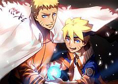 Картина GeekLand Naruto Наруто сила 60x40 NU 09.004
