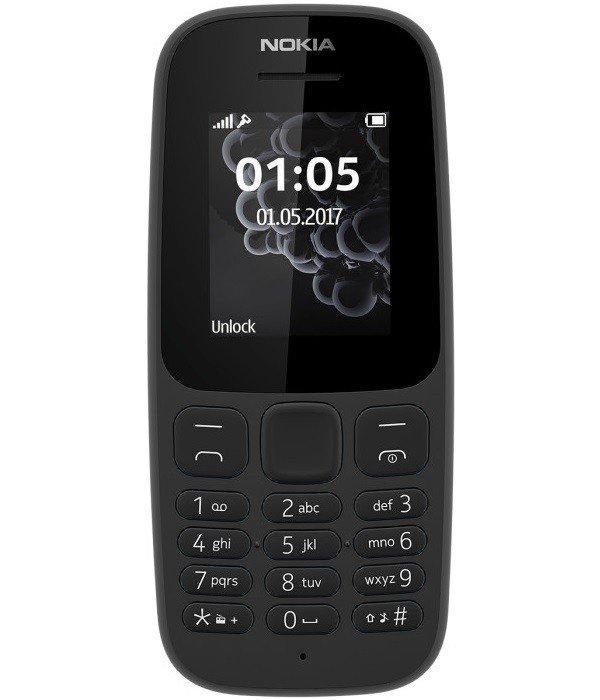 3faeee8e92189 Мобильный телефон Nokia 105 TA-1010 Black - Интернет-магазин Mello в Белой  Церкви