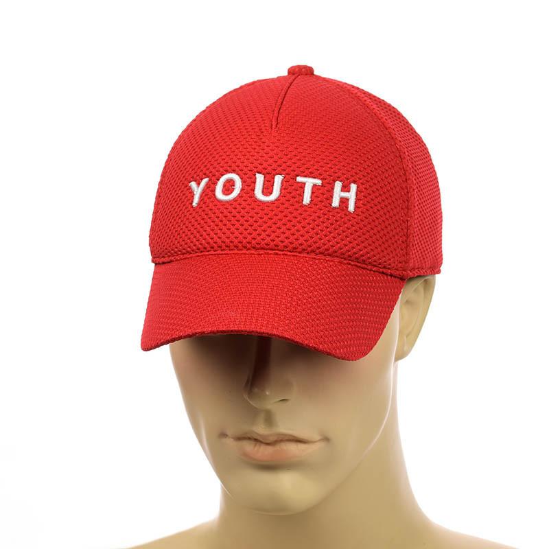 """Кепка на резинке с вышивкой   """"Youth"""""""