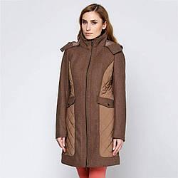 Пальто Geox W2415B MELANGE DK STONE 44 Серый (W2415BMLDST)