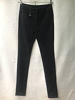 Джеггинсы женские норма, под ремень «Стрекоза», размеры 25-30, темно-синие, фото 1