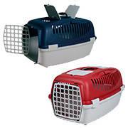 Переноска TRIXIE Capri 2 для животных до 8кг, 55x36x35 красная