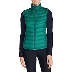 Жилетка Eddie Bauer Womens Downlight StormDown Vest EMERALD S Зеленый (0969EM-S)