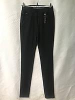Джеггинсы женские норма, «Звёздочка», размеры 25-30, черные