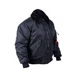 Куртка Chameleon CWU меховой воротник BLACK 52-54 Черный (0701-04-52-54)