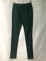 Джеггинсы женские норма, «Осы», размеры 25-30, зеленые, фото 1
