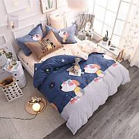 Комплект постельного белья Щенки (двуспальный-евро) Berni