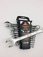 Набор ключей рожково-накидных Корсал 12 предметов