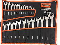 Професиональний набор ключей рожково-накидных Polax Польша 25 предметов