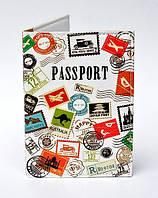 Обложка на загранпаспорт Штампы