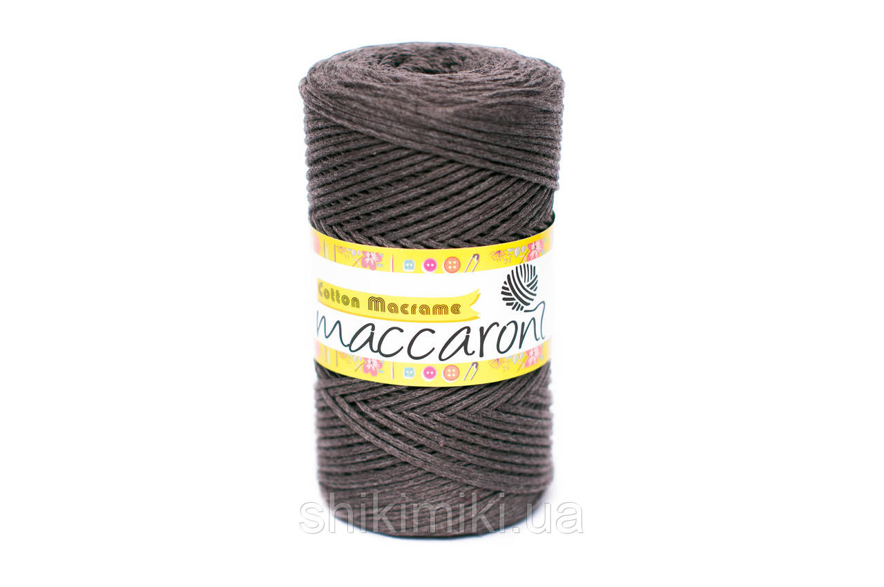 Эко Шнур Cotton Macrame, цвет Тауп