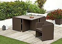 """Набор садовой мебели """"Moss"""" (стол+4 кресла)"""