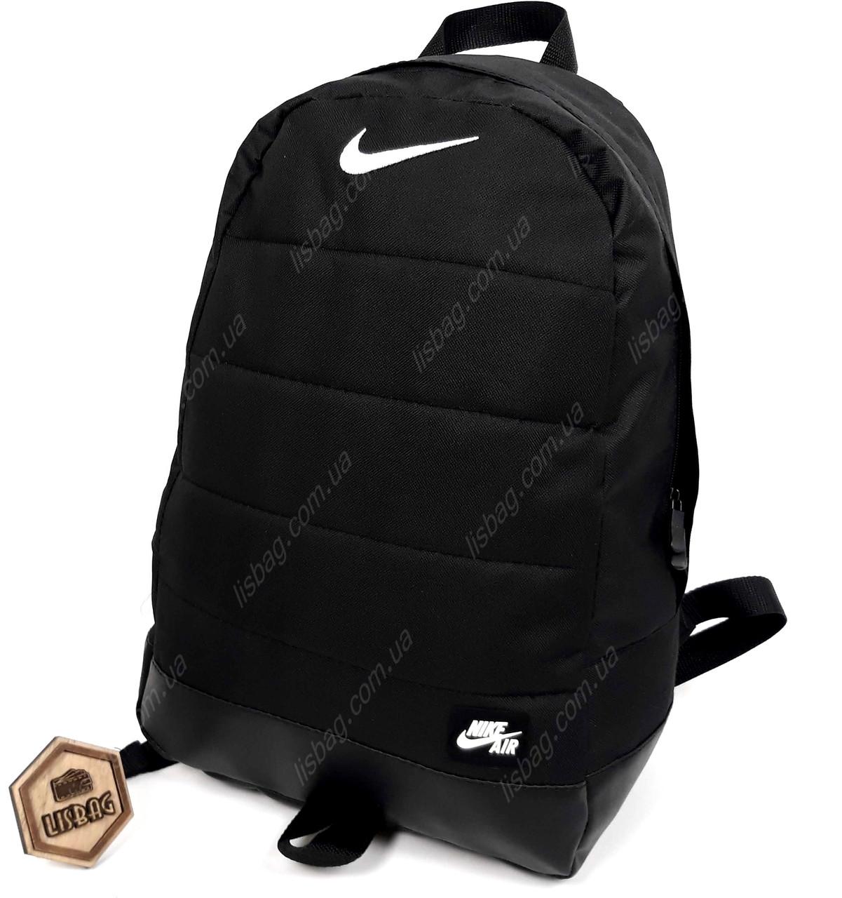 62a1b2e766dd Спортивный рюкзак Nike реплика хорошего качества, прочный, на каждый день,  черного цвета