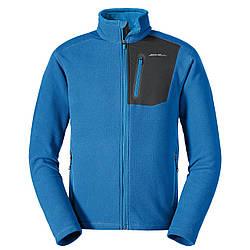 Кофта Eddie Bauer Men Cloud Layer Pro Full-Zip Jacket ASCENT M Голубая (0029ACBL-M)