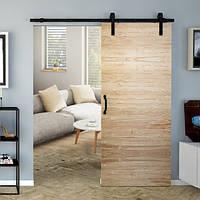 Комплект подвесной раздвижной системы Valcomp REA RE20 в стиле LOFT для деревянных дверей