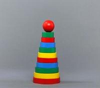Пирамидка цветная